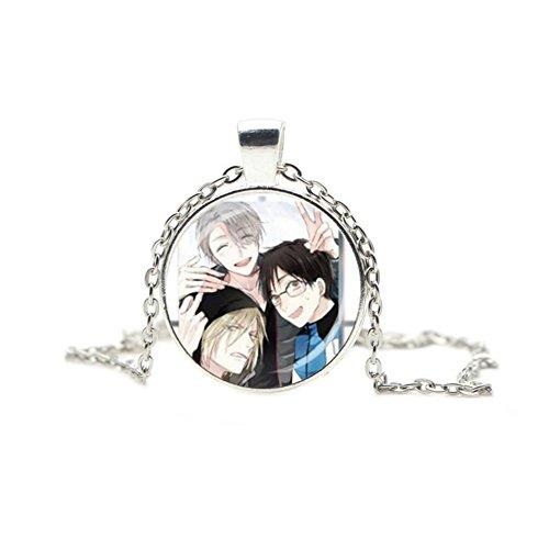 Yuri On Ice Necklace Pendant Game Anime Manga TV Series Cosplay by Athena Brands -