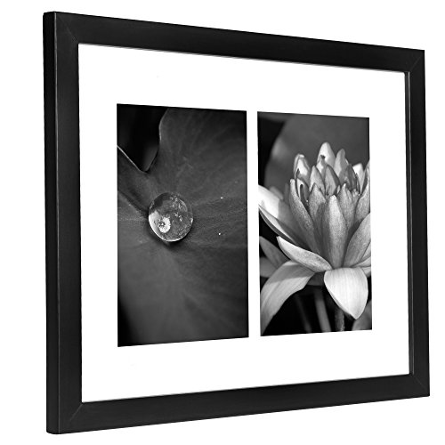 11x14 Collage Picture Frame Displays Two 5x7 Inch