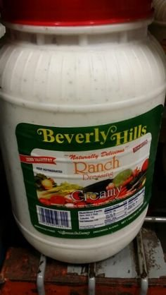 Beverly Hills Creamy Ranch Dressing 1 Gal (2 Pack) by Admiration