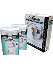 CatGenie 120 SaniSolution Smart Cartridges and Fresh-scent Washable Granules 2+1 Combo