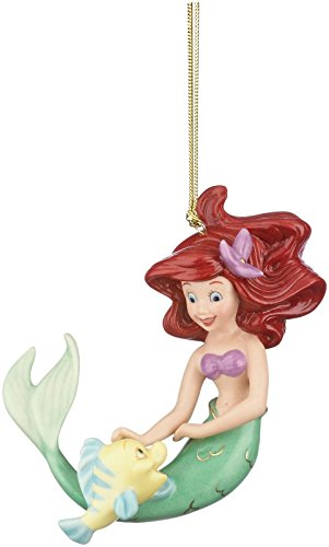 Lenox Disney's The Little Mermaid Ariel's Best Friend Ornament (Ornaments Collectible Tree Christmas)