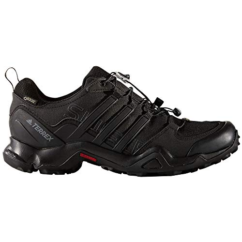adidas outdoor Men's Terrex Swift R GTX Black/Black/Dark Grey Hiking Shoes - 10.5 D(M) US