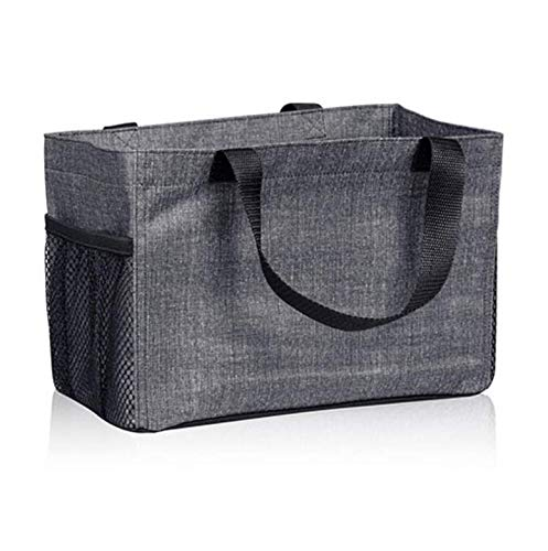 Thirty One All In Organizer in Charcoal Crosshatch - 8495 - No Monogram