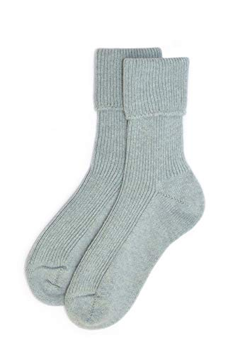 Ladies Cashmere Sock in Harr Made In Scotland