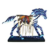 Enesco Trail of Painted Ponies Tribal Paint Pony Figurine 6-1/4-Inch