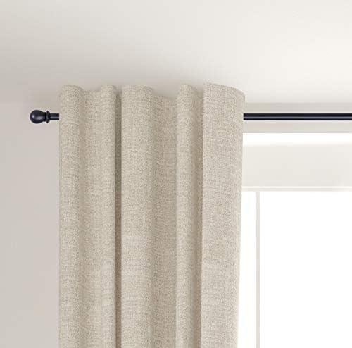 Kenney Scroll Ball 5 8 Standard Decorative Window Double Curtain Rod 48 86 Black Amazon Ca Home Kitchen