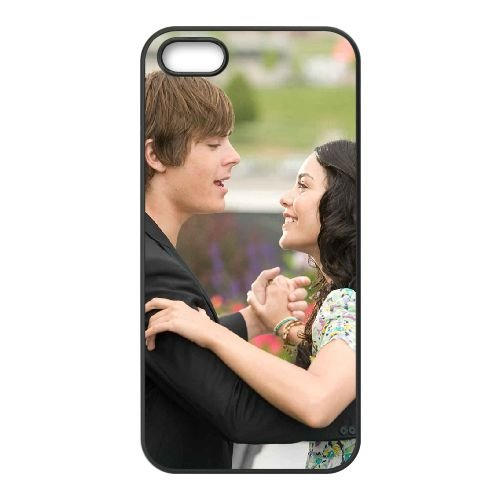 High School Musical 3 6 coque iPhone 4 4S cellulaire cas coque de téléphone cas téléphone cellulaire noir couvercle EEEXLKNBC25741
