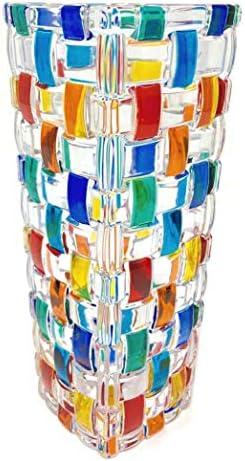 Italian Crystal Bud Vase