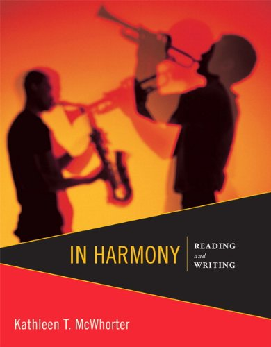 In Harmony: Reading and Writing