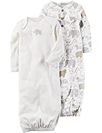 Carter's Unisex Baby 2-Pack Gowns