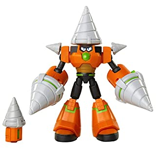 Mega Man: Fully Charged – Deluxe Drill Man Articulated Action Figure with Spinning Drills and Drill Man Buster Accessory (to swap onto the Mega Man figure)! Based on the new show!