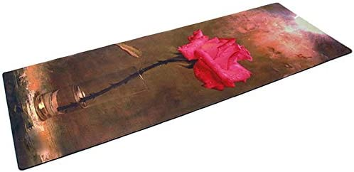 Yoga mat 耐久性のあるソフトノンスリップパッド入りフラワーパッド子供の神パッド印刷ヨガパッド3.5ミリメートルヨガマット workout