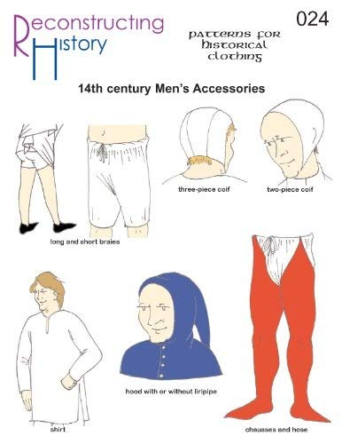 14th Century Man's Accessories Pattern Reconstructing History