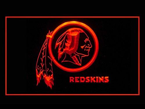 Washington Redskins Football Led Light Sign - Neon Football Light