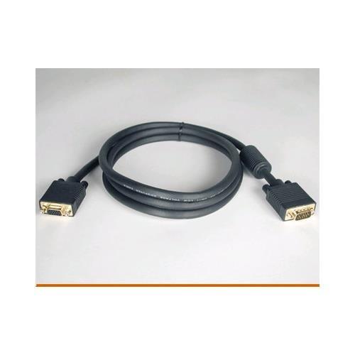 TRIPP LITE 6ft svga/vga monitor extension hddb15(f) to hddb15(m) gold w/rgb (Gold Hddb15 M Monitor)