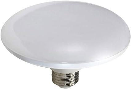 vetrineinrete® Bombilla LED UFO Disco Plato E27 18 W Lámpara Luz ...