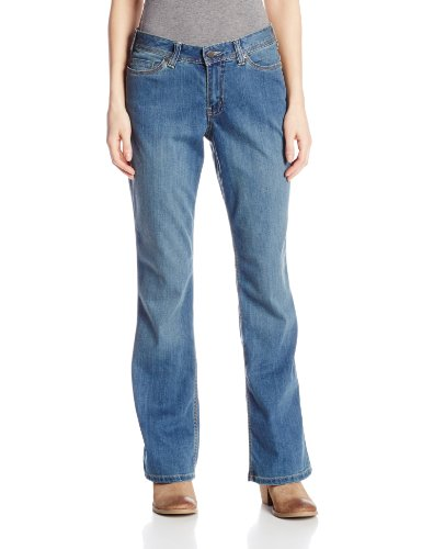 (Carhartt Women's Relaxed Fit Denim Jasper Jean, Washed Indigo, 8 Regular)