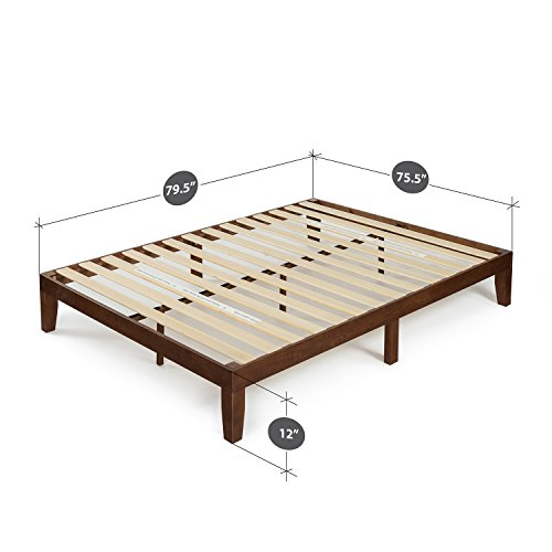 Zinus 12 Inch Wood Platform Bed No Boxspring Needed
