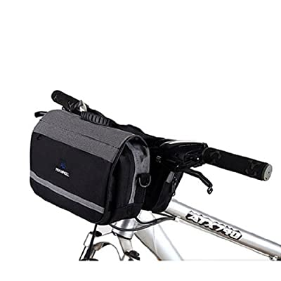 New Quick Release Cycling Bike Bicycle Handlebar Bar Pounch Front Basket Velcro Bag