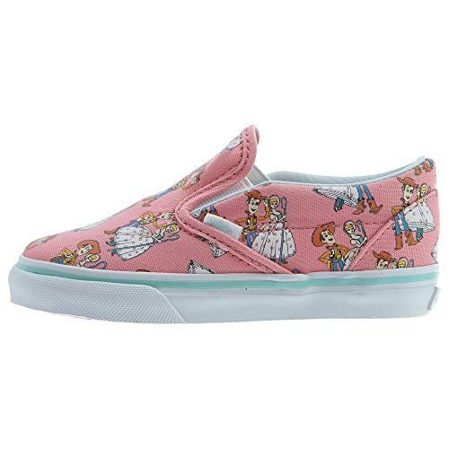 Vans Toddlers Classic Slip-on (Toy Story) Woody/Bo Beep Skate Shoe 9.5 Infants US