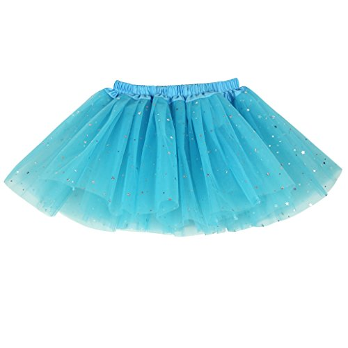Blue 2 Satin Skirt - 7