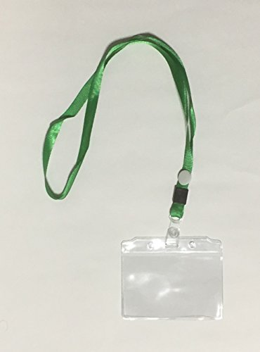 LupiLupi ID Badge Holders & Lanyards,50sets,Name Tags,Credit Card Holder,with Storage case ()