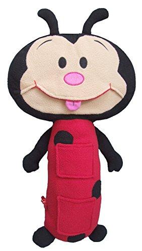 Seat Pets Red/Black Ladybug Car Seat Toy
