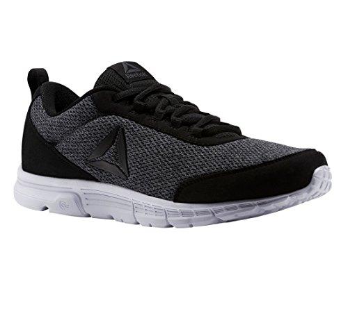 Reebok Mens Speedlux 3.0 Sneaker Black/Ash Grey/White Bla PCi1RoKuX