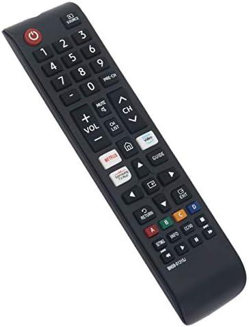 BN59-01315J Replace Remote Control are compatible for Samsung LED LCD 4K UHD Smart TV UN43TU7000FXZC UN43TU7000F UN43TU7000FXZA UN50TU7000F UN50TU7000FXZA UN50TU7000FXZC UN50TU700DFXZA UN55TU7000F UN55TU7000FXZA