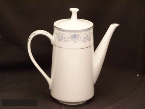 Noritake Blue Hill #2482 Coffee Pot