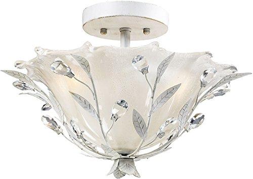 Elk Lighting 18111/2 Circeo Two Light Semi-Flush, Antique White ()