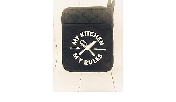 Black Widow Inspired Pot Holder Set Kitchen Home Decor  Housewarming Wedding Gift Boyfriend Girlfriend Gift Hostess Cooking Gift Fun