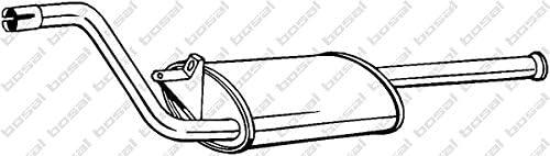 Bosal 280-823 Mittelschalld/ämpfer
