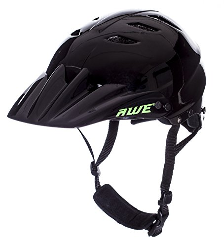 AWE FREE 5 YEAR CRASH REPLACEMENT Full Face Helmet Black Large by AWE (Image #7)