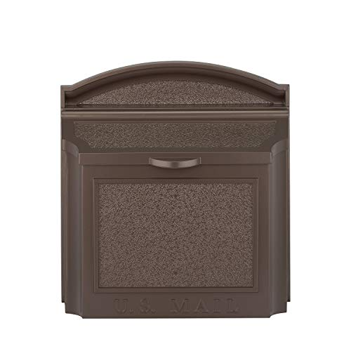 (Whitehall Products 16138 Wall Mailbox, French Bronze)