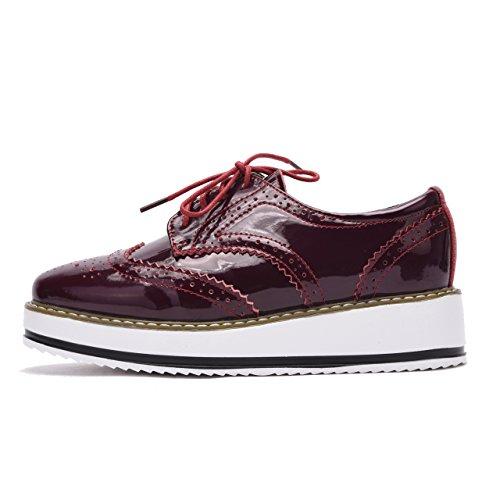 Moonwalker Zapatillas para Hombre en Cuero (EUR 44 ,Gris)