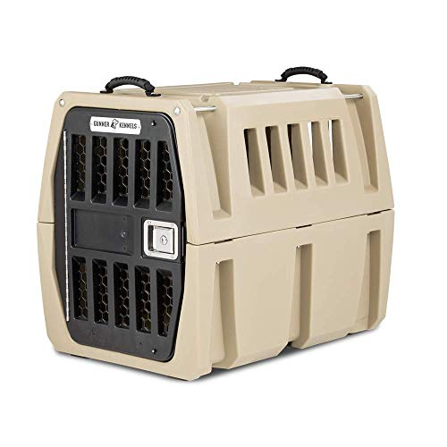 Gunner Kennels G1 Intermediate Dog Crate   Crash Tested Pet Travel Crate, Escape Proof, Heavy Duty Dog Box   Dog Kennel Fits Medium and Large Breed Dogs