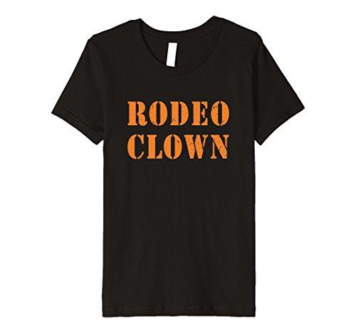 Kids Rodeo Clown Halloween T-Shirt 8 Black