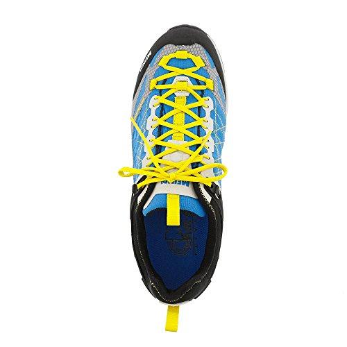 Meindl Zapatos de Senderismo Hombre azul, amarillo