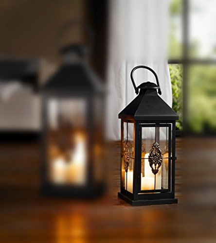 UPC 816471010161, Medium 19 in. Metal European-style Hanging Candle Lantern Product SKU: CL229314
