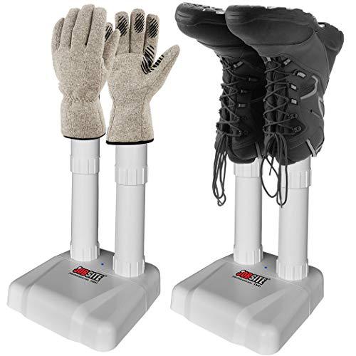 JobSite Original Boot Dryer - Noiseless Electric Dryer for Shoes, Gloves, Socks - Prevent Odor, Mold & Bacteria (6 pack) by JOB SITE (Image #5)