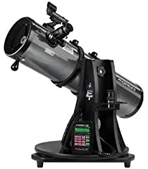 "Our popular StarBlast 6 Astro Telescope just got a lot smarter! This portable 6"" f/5.0 reflector now comes ready for use with Orion's exclusive computerized object location system, allowing night sky newbies to pinpoint hundreds, even thousan..."