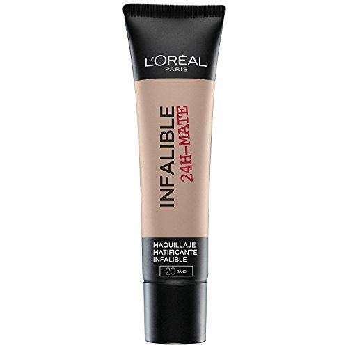 L'ORAL PARIS Base Maquillaje Infalible 24H-Mate L'Oral Paris 20