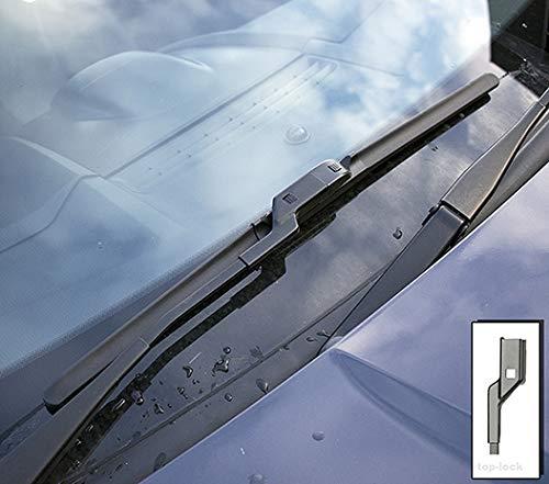 Hundai Ix20 Models 2010 To 2019 Heyner Germany Aeroflat Windscreen Wiper Blades Size 261412 Front Replacement Set