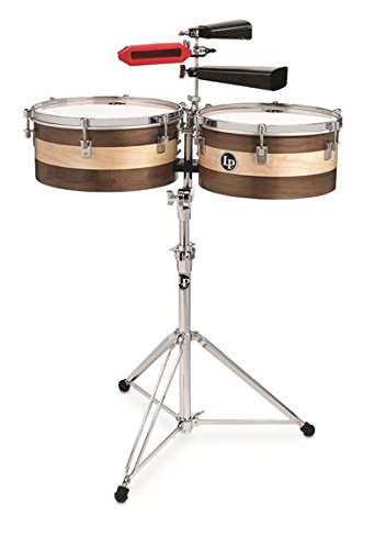 Latin Percussion LP Matador 13''/14'' Sheila E Signature Series Wood Timbale Set M1314-SE by LP