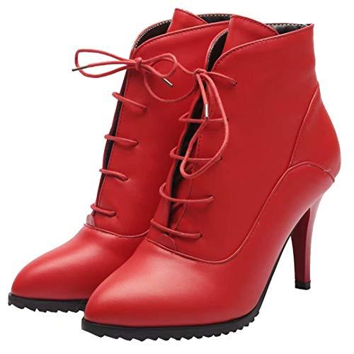 Boot AIYOUMEI Classic Women's AIYOUMEI Women's Red qPTwIZ57x