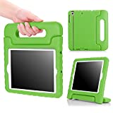 MoKo Case Fit iPad Mini 3/2/1, Kids Shock Proof Handle Light Weight Protective Stand Cover Fit Apple iPad Mini 1 (2012), iPad Mini 2 (2013), iPad Mini 3 (2014), GREEN (Not fit iPad Mini 4)