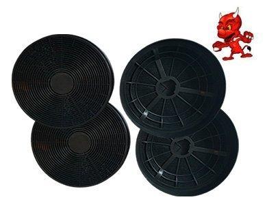 Megaset aktivkohlefilter fettfilter kohlefilter filter st für