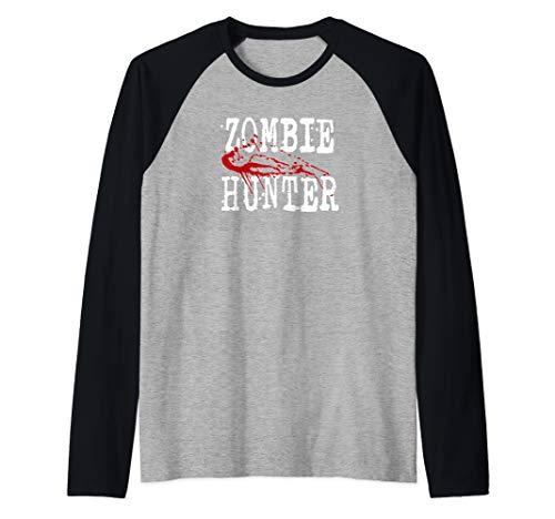 Hunter College Halloween Party (Zombie Hunter Halloween Tee Raglan Baseball)