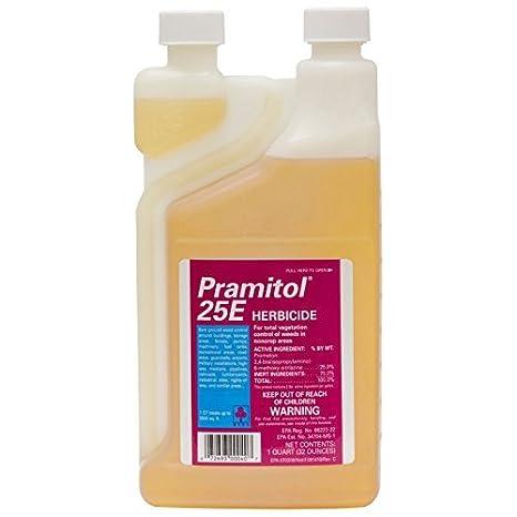 Pramitol 25e Bare Ground Herbicide 1 Quart Total Vegetation Killer Prometon  25% Not For Sale To: CA